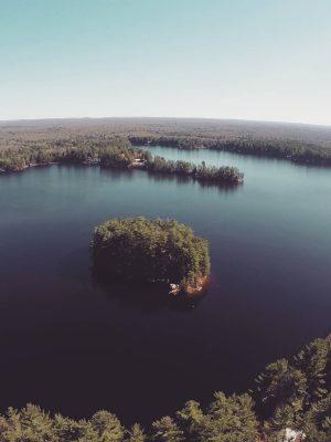 Grant Island - Brantingham Lake