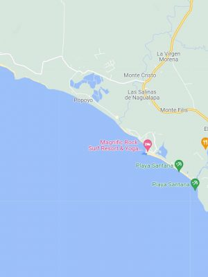 Popoyo Beach South Pacific Nicaragua